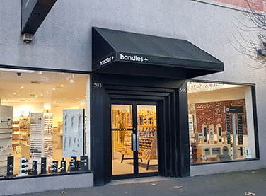 Handles+ Melbourne store: door handles, locks, and accessories